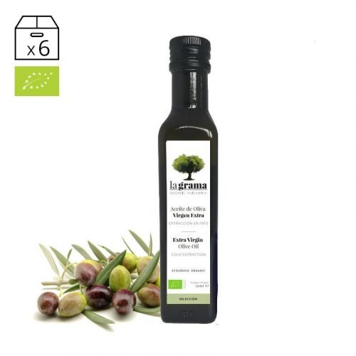 La Grama Selección 0,25 litros – Aceite de Oliva Virgen Extra Ecológico