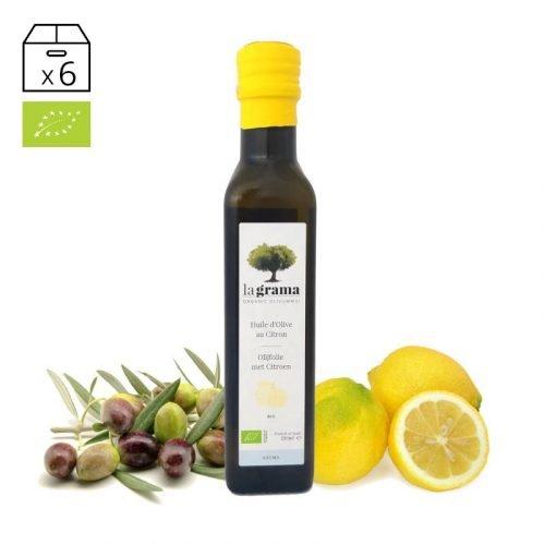 La Grama Aroma Limón 0,25 litros – Aceite de Oliva y Limón