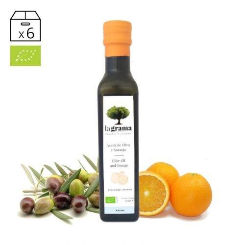 La Grama Aroma Naranja 0,25 litros – Aceite de Oliva y Naranja